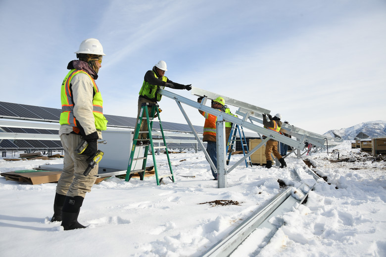 Keeping Construction Crews Warm In The Winter